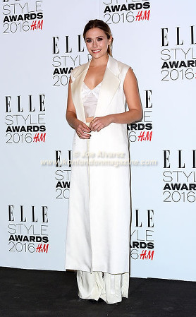Elizabeth Olsen Elle Style Awards 2016 © Joe Alvarez