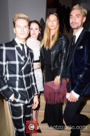 Oliver Proudlock, Rosie Fortescue, Emma Lou Connoly, Hugo Taylor at the Audemars Piguet London Launch Party
