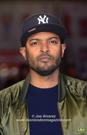 Noel Clarke Eddie The Eagel European Premiere © Joe Alvarez