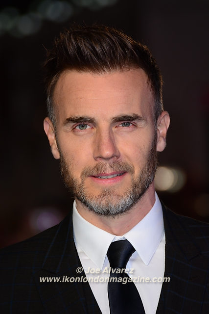 Gary Barlow Eddie The Eagel European Premiere © Joe Alvarez