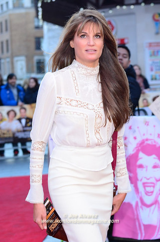 Jemima Khan at the Florence Foster Jenkins premiere © Joe Alvarez