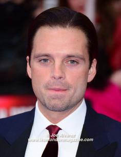 Sebastian Stan The Captain America: Civil War London premiere © Joe Alvarez