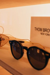 Luxury eyewear Thom Browne in London