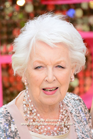 June Whitfield Absolutely Fabulous The Movie London Premiere © Joe Alvarez