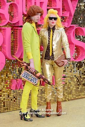 Pam Hogg Absolutely Fabulous The Movie London Premiere © Joe Alvarez
