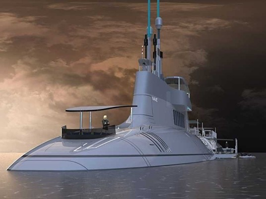 Migaloo submersible superyacht
