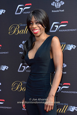 Heather Small Grand Prix Ball 2016 © Joe Alvarez