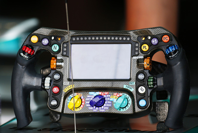 The F1 Steering Wheel Explained | Ikon London Magazine
