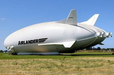 Airlander 10 Flying Bum