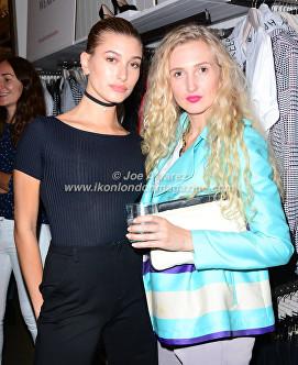 Hailey Baldwin London Fashion Week, Tamara Orlova-Alvarez, At the Stradivarius party during London Fashion Week © Joe Alvarez