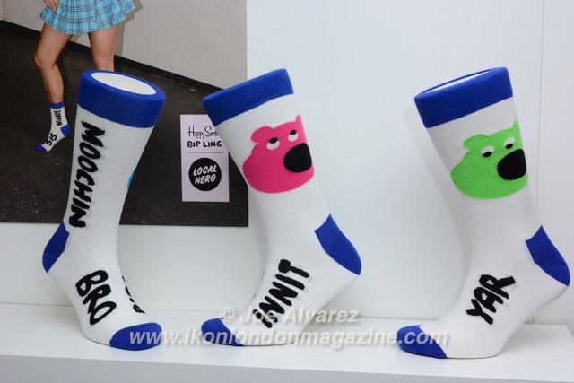 Bip Ling Happy Socks © Joe Alvarez