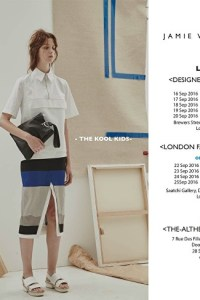 London Fashion Week Jamie Wei Huang SS17