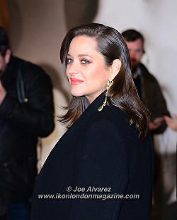 Marion Cotillard at the London Premiere of The Allied © Joe Alvarez