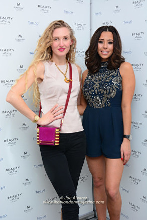 Tamara Orlova-Alvarez, Pascal Craymer Beauty & Melody Spa Launch Party © Joe Alvarez