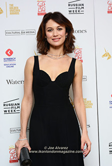 Olga Kurylenko at The Golden Unicorn Awards 2016 © Joe Alvarez