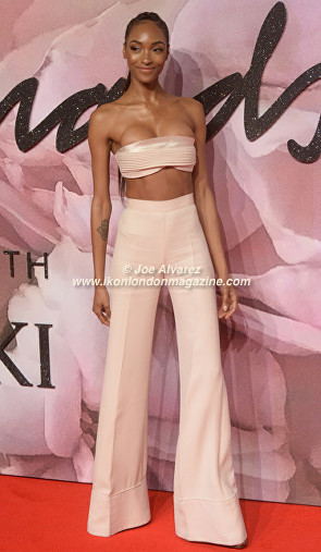 Jourdan Dunn The Fashion Awards 2016 © Ikon London Magazine