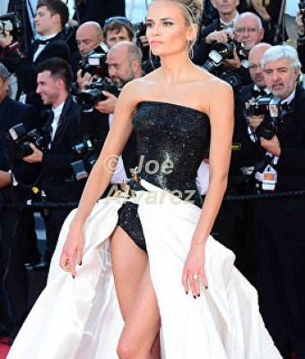 Natasha Poly Atelier Versace Cannes Film Festival © Joe Alvarez