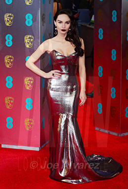 Ava West at Royal BAFTA 2017 © Joe Alvarez