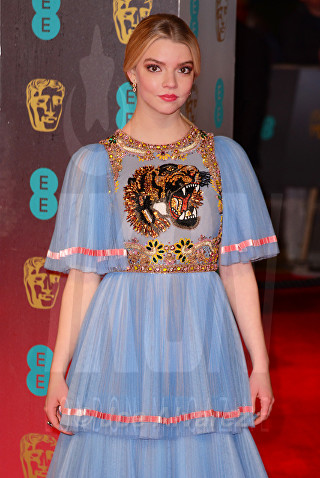 Anya Taylor Joy at Royal BAFTA 2017 © Joe Alvarez
