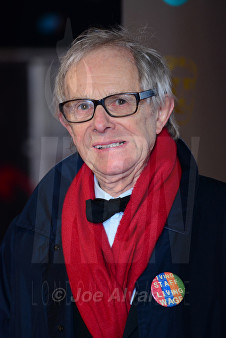 Ken Loach at Royal BAFTA 2017 © Joe Alvarez