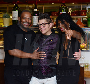 Anton Stephans, Joe Alvarez, Sinitta Bar Boulud © Joe Alvarez