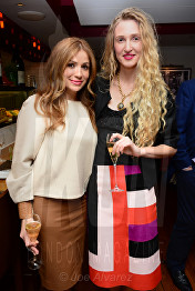 Teo Lloyd, Tamara Orlova-Alvarez Bar Boulud © Joe Alvarez