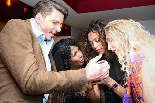 Sinitta, Lilly Becker, Tamara Orlova-Alvarez Bar Boulud © Joe Alvarez