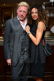 Lilly and Boris Becker Bar Boulud © Joe Alvarez