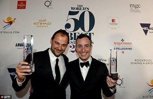 Will Guidara and Daniel Humm The World's 50 Best Restaurants