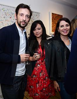 Ralf Little, Guest, Sadie Frost at Morphosis Private View © Joe Alvarez