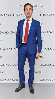 David Gigauri at Olga Lomaka Gallery Launch