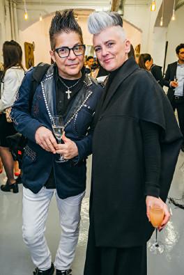 Joe Alvarez, Verna Taylor Barker at Olga Lomaka Gallery opening