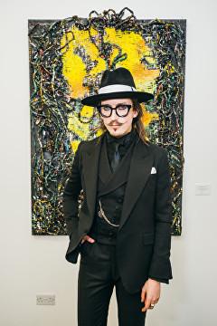 Joshua Kane at Lomaka Gallery Launch Party