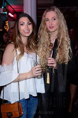 Luisa Zissman, Tamara Orlova-Alvarez Lash Unlimited party © Joe Alvarez