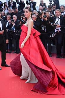 Araya A. Hargate The Meyerowitz film premiere Cannes Film Festival © Joe Alvarez