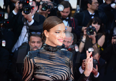 Irina Shayk The Beguiled World Premiere Cannes Film Festival © Joe Alvarez