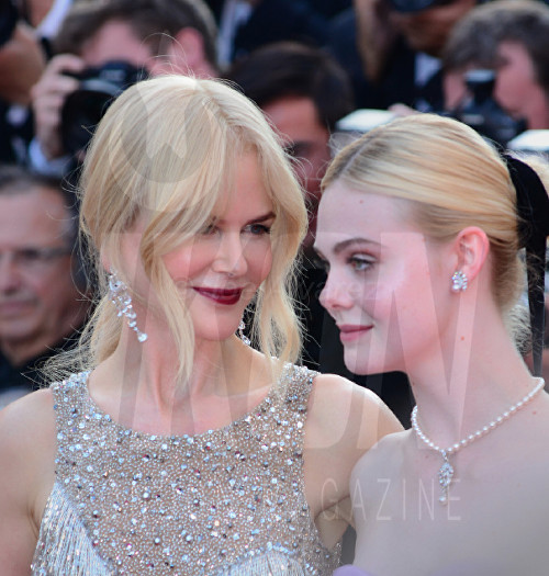 Nicole Kidman, Elle Fanning The Beguiled Premiere Cannes Film Festival © Joe Alvarez