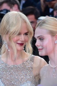 Nicole Kidman, Elle Fanning The Beguiled Premiere Cannes Film Festival © Joe Alvarez