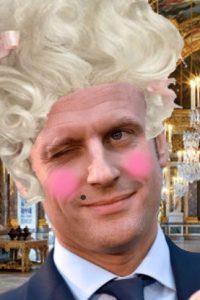 'Macron Antoinette' Amidst Makeup Scandal