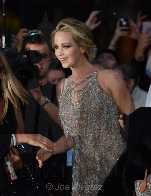 Jennifer Lawrence Mother! London Premiere © Joe Alvarez