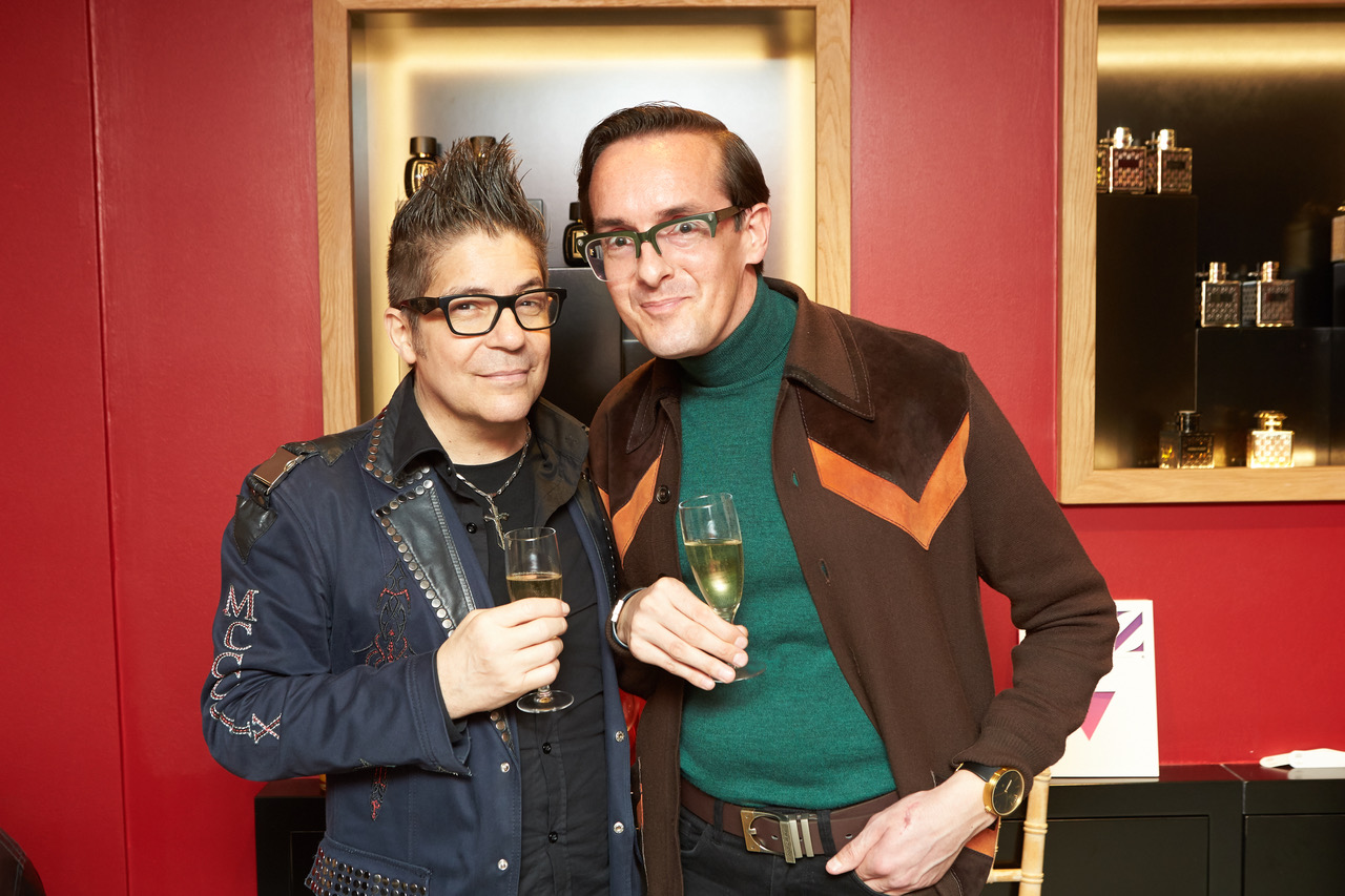 Joe Alvarez and Darren Charman