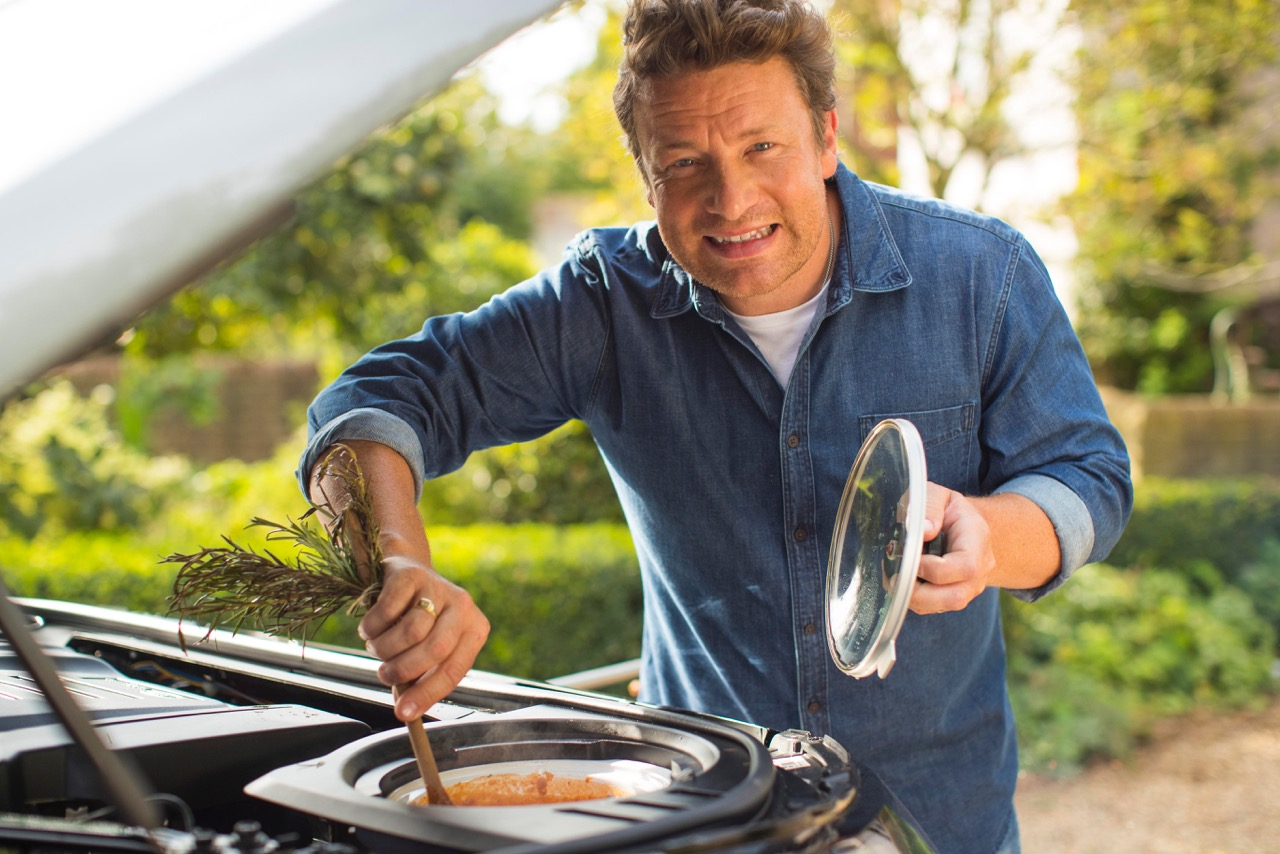 Jamie Oliver Land Rover Discovery