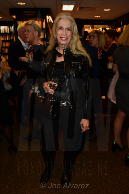 Lady Colin Campbell at Princess Olga Romanov's book launch © Joe Alvarez