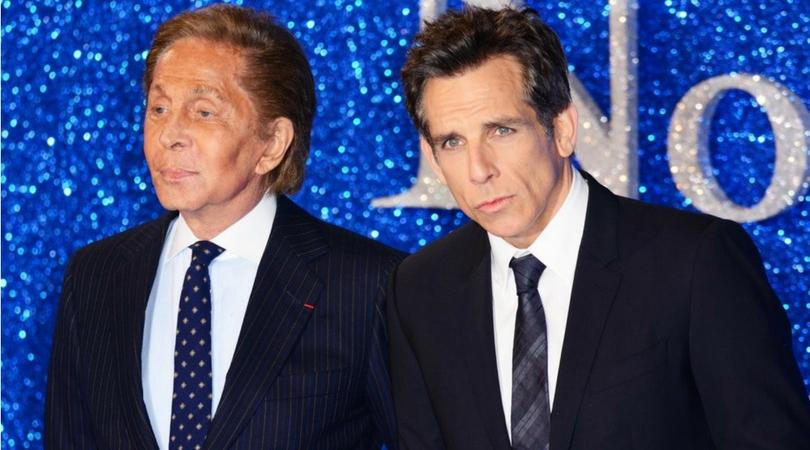 Valentino and Ben Stiller © Joe Alvarez Ikon London Magazine Celebrity