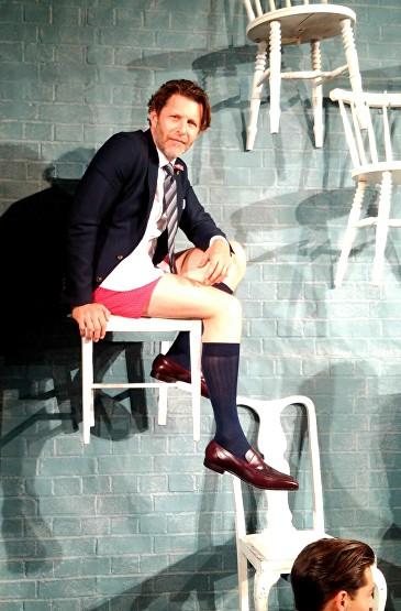 Thomas Pink Fashion show © Ikon London Magazine Latest in Fashion Male Modelling