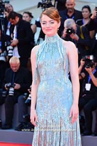 Emma Stone La La Land premiere at the Venice Film Festival © Joe Alvarez