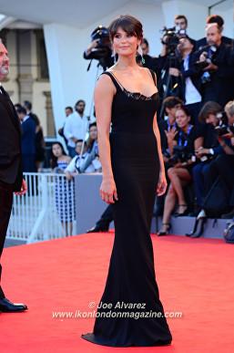 Gemma Arterton La La Land premiere at the Venice Film Festival © Joe Alvarez
