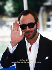 Tom Ford at The Nocturnal Animals Press call at the Venice Film Festival © Joe Alvarez