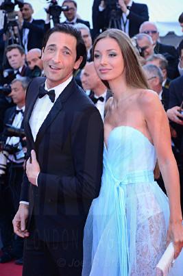 Adrien Brody, Lara Lieto Cannes Film Festival 2017 Opening Night © Joe Alvarez
