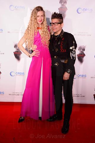 Tamara Orlova-Alvarez Joe Alvarez at the Snowbound Film Party in Cannes © Joe Alvarez